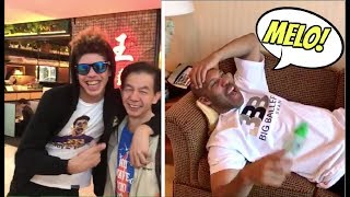LaMelo Ball FUNNY Encounter With a Chinese Fan In Hong Kong After Liangelo Ball's Incident in China
