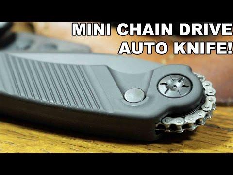 Mini Chain Drive Auto Knife! Rat Worx Mini MRX
