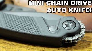 Mini Chain Drive Auto Knife! Rat Worx Mini MRX