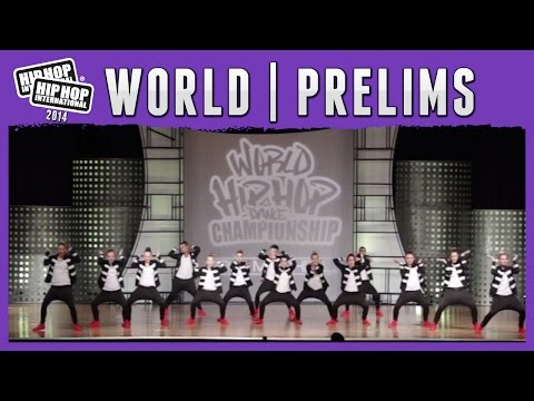 B2D Crew - South Africa (MegaCrew) at the 2014 HHI World Pre