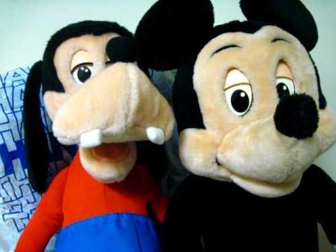 Mickey And Goofy- Making Progress