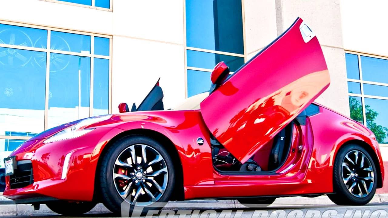Nissan 370z 2009 2016 vertical lambo doors by Vertical ...