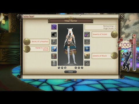 FFXIV: Fashion Report Friday - Week 64 - Theme : Tribal Warrior