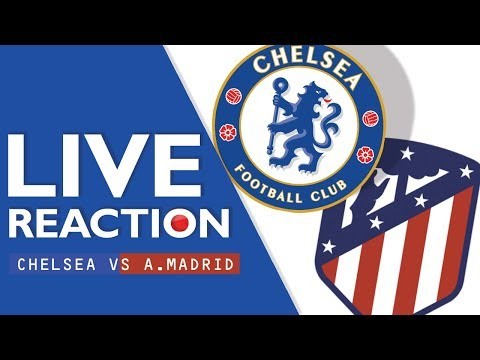 Chelsea 1-1 Atletico Madrid (Reaction) - Watch Along