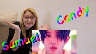 Реакция на k-pop клип  Samuel - Candy/ Сладкий мальчик