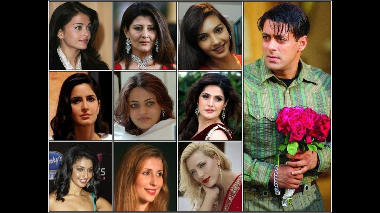 Salman Khan girlfriends Photos - YouTube