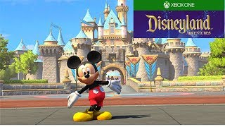Disneyland Adventures - The Haunted Mansion (XBox One S Gameplay)