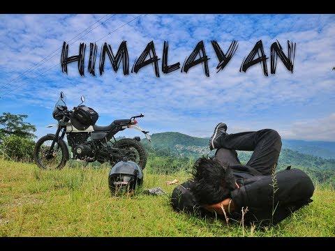 DREAMING REVIEW OF ROYAL ENFIELD HIMALAYAN BSIV : Pros & Cons