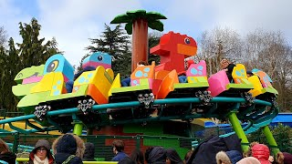 Duplo Dino Coaster 1st Ride Ever, Legoland Windsor New Rollercoaster 2020 Lego Parks World 1st U.K