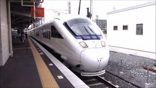 日本の電車 Japanese train  特急かもめ 長崎~諌早駅発着シーン JR九州 thumbnail
