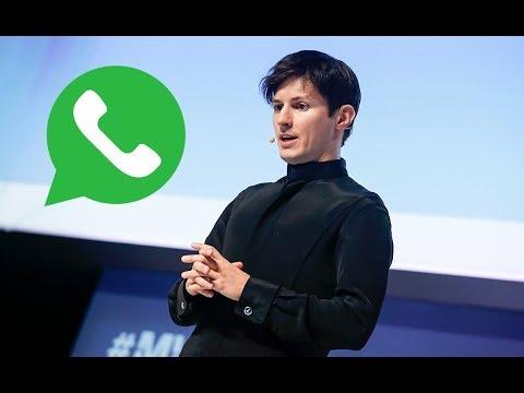 «Почему WhatsApp никогда не будет безопасным». Павел Дуров.