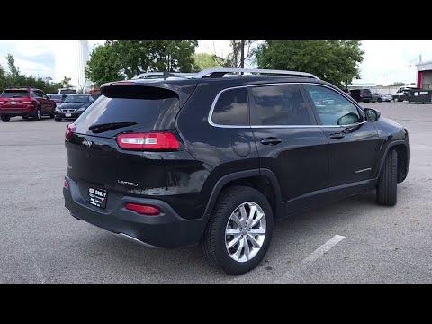 2016 Jeep Cherokee Springfield, Dayton, Columbus, Marysville, London, OH 4588PR