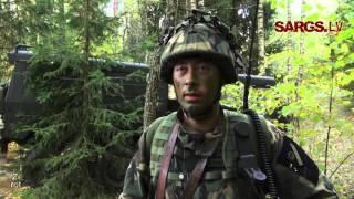 Taktikas kursā kadeti un zemessargi apgūst vada komandiera kaujas iemaņas