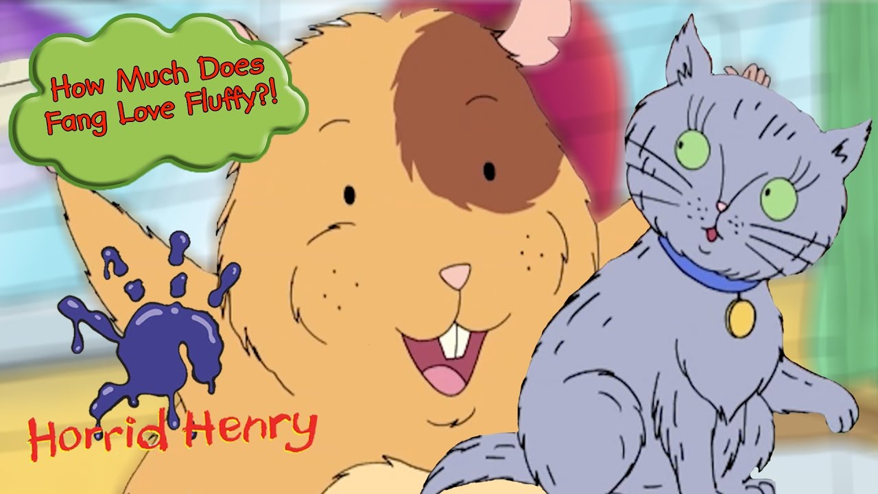 How Much Does Fang Love Fluffy Horrid Henry