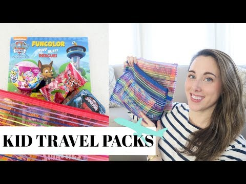 Travel | Kid Travel Packs - Affordable & Fun Busy Bags!