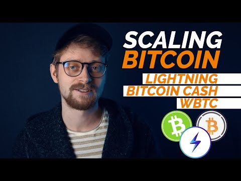 How Can Bitcoin Scale? - Lightning Network, Bitcoin Cash, WBTC? | Debunking Bitcoin Problems #9