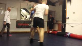 father vs son boxing match macclesfield