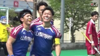 【H1】山梨学院OCTOBER EAGLES #9 小沢 諒 選手、リバースヒットで勝利を手繰り寄せた!