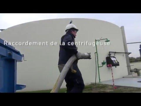 Eaux quotidien - Episode #2 : Centrifugeuse mobile de déshydratation des boues - SUEZ France