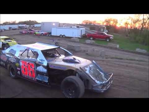 Salina Speedway CSR Manufacturing IMCA Northern SportMods (Heats) 5-4-18