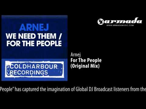 Arnej - For The People (Original Mix) [CLHR108]
