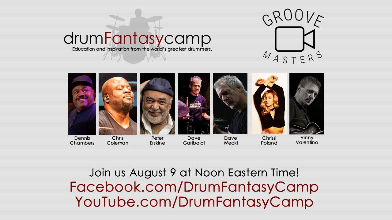 Drum Fantasy Camp/Groove Masters Chat: Episode 1