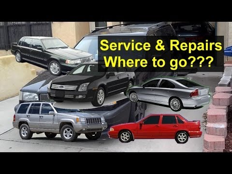 Beware of poor car service. How to avoid problems, some tips and suggestions - Auto Repair Series