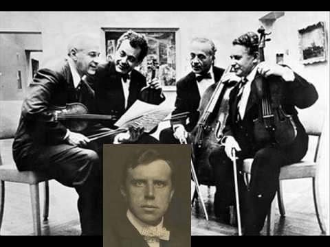 Brahms:Quintet#1 in F Major-Opus 88-Budapest String Quartet with Alfred Hobday