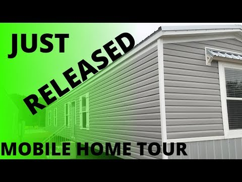 SINGLE WIDE HOME JUST BEING RELEASED! 16X82 By Hamilton Homebuilders | Mobile Home Tour