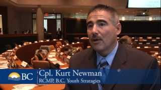 RCMP Cpl. Kurt Newman at ERASE Bullying Summit
