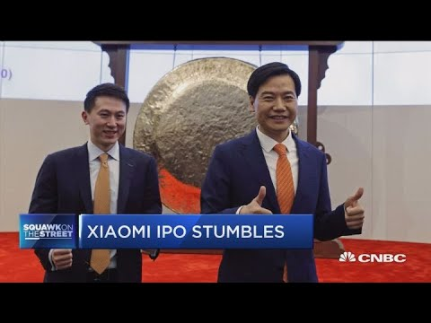 Chinese smartphone giant Xiaomi marks its first day of trading from YouTube · Duration:  32 seconds