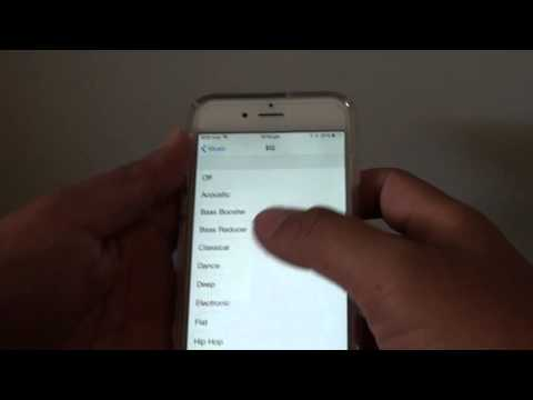 iPhone 6: How to Change Music Equalizer