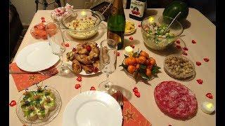Праздничный стол на 14 февраля /День Святого Валентина