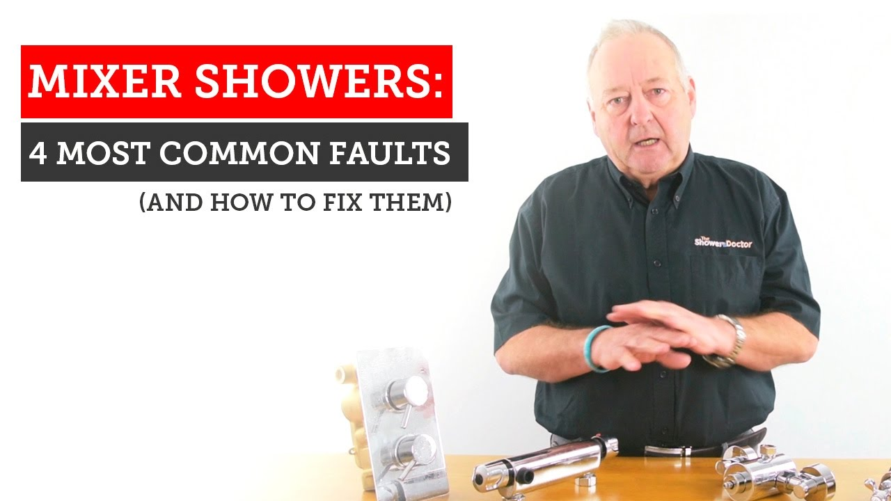 Mixer Shower Problems 4 Most Common Faults With Repair Tips