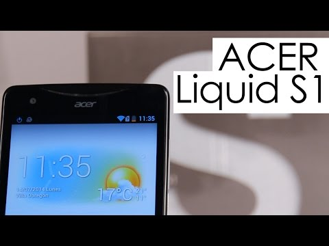 Acer Liquid S1: unboxing y primeras impresiones