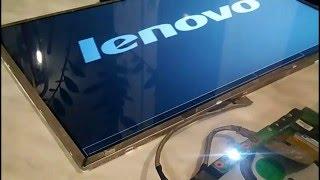 видео ремонт дисплеев ноутбуков