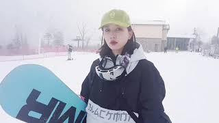 고글 스키 남녀 이중렌즈 안개 자외선 방지