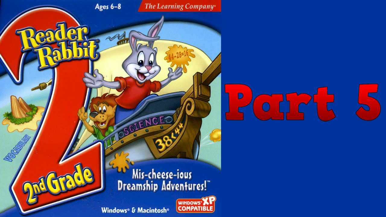 Reader Rabbit: 2nd Grade - Mis-cheese-ious Dreamship Adventures!