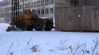 К-700.   Перевозка станка в заводе ЧТЗ.(, 2014-12-17T13:46:06.000Z)