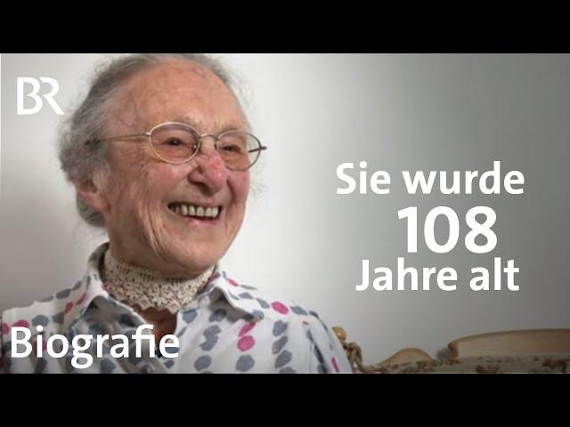Anna Lang: Sie wurde 108 Jahre alt | Lebenslinien | Biografie | BR