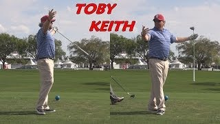 TOBY KEITH - COUNTRY MUSIC SINGER HITS GOOD DRIVE STRAIGHT AT THE CUP - THE PEOPLE LIKE IT