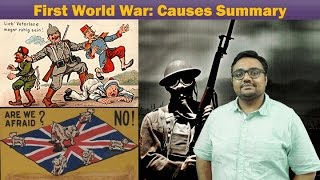 wh ww1 p3 first world war causes summary imperialism secret alliances groupism