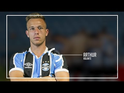 Arthur - Lances, dribles, passes, gols (Meia-gremista)