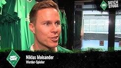"""Niklas Moisander bei Trikot-Vorstellung: """"Werder Bremen ist für mich mehr grün als weiß"""""""