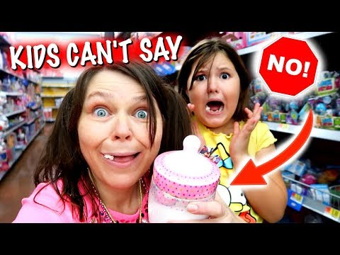 KIDS CAN'T SAY NO FOR A DAY! ~ MOM IS IN CHARGE FOR 24 HOURS