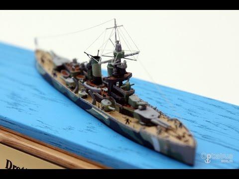Drottning Victoria - custom-made design model ship - 1250 scale