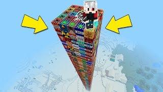 DEV TNT KULESİNİ PATLATMAK - Minecraft