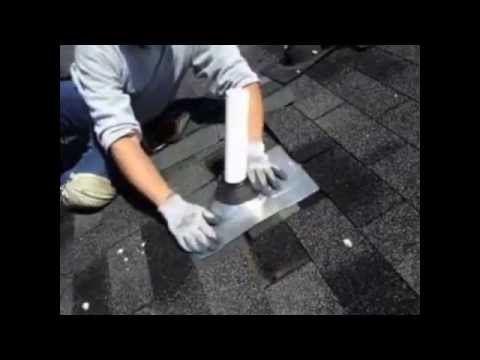 Roofing Repair How To Replace Pipe Flashing Youtube