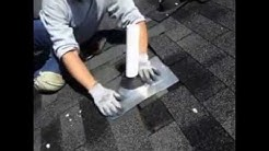 ROOFING REPAIR - How To Replace Pipe Flashing