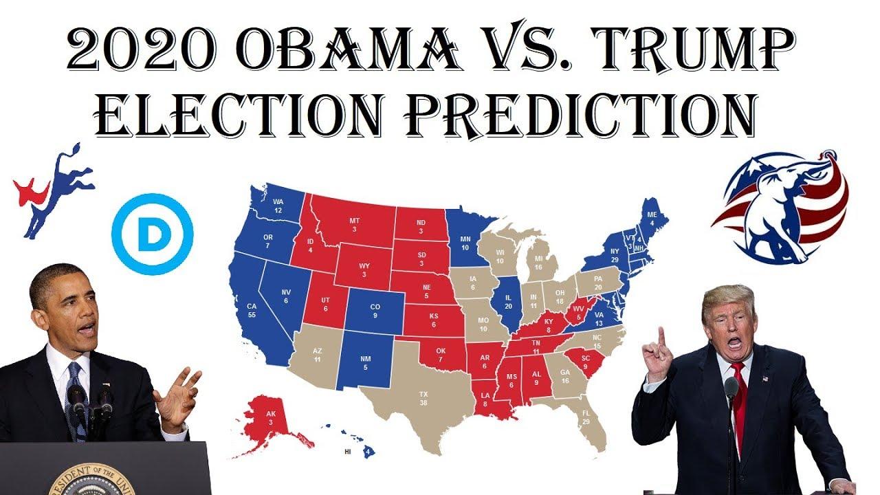 barack obama  donald trump  electoral map prediction projecting   election